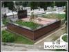 38 Kurtköy mezarlığında granit kaplama mezar yapımı