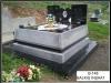 48 Çorum ilinde granit mezar yapımı
